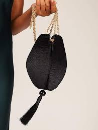 Ida Black Clutch | Black Occasion Bags | Skinnydip London