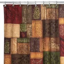 brown shower curtains. Avanti Adirondack Pine Shower Curtain Brown Curtains