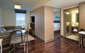One Bedroom Suites Seaport Accommodations One Bedroom Suite Element Boston Seaport