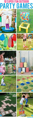 10 super fun outdoor party games | Party games, Outdoor party games and Outdoor  parties