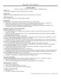 Professional Objective For Nursing Resume Professional Nursing Resume Examples Labor And Delivery Resume For 77