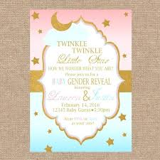 Baby Gender Reveal Invitations Invitation Cards