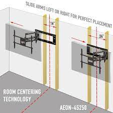 mounts full motion tv wall mount for