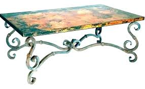 iron coffee table base wrought iron coffee table legs bases base ht with glass top square