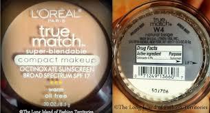 review l oreal paris true match super blendable pact makeup