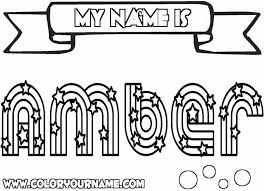 Small Picture Girl Name Coloring Pages Coloring Pages