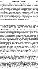 Digest of United States Practice in International Law 1973. By ...