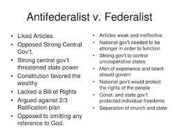 ppt antifederalist v federalist powerpoint presentation id  federalist