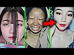 best viral asian makeup transformations 2018 weird asian makeup tutorials pilation