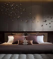 contemporary bedroom decor. Romantic Brown Color Of Bedroom Decoration Contemporary Decor