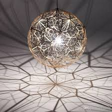 tom dixon etch web creative arts diamond ball hanging lighting pendant lamp gold silver 40cm 60cm ball chandelier lamp available tom dixon chandelier ball