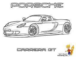 Porsche 911 Coloring Pages
