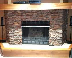 faux stone fireplace panels how to install faux stone panels over brick fireplace faux stone fireplace