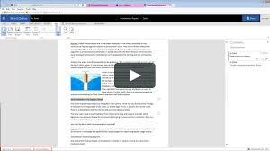 How To Use Word Online Tutorial Introducing Microsoft Word For Office 365
