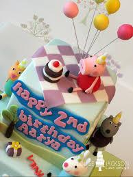 Peppa Pig Party Louise Jackson Cake Design