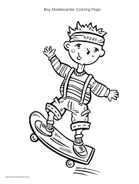 coloring page skateboard transportation 14 printable coloring pages