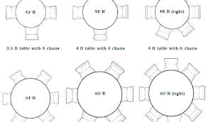 4 foot round table 6 tents events seating information 5 for tables that size chairs