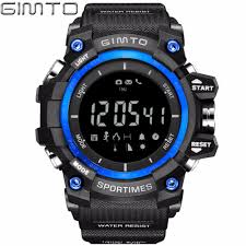waterproof digital watch promotion shop for promotional waterproof brand men digital watch waterproof led shock sports smart watches pedometer altimeter military stopwatch diving clock bluetooth