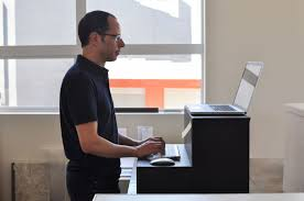 standing desk converter sit stand workstation oristand regarding stand at desk