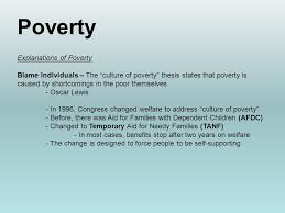 sociology per th end time unit social 10 poverty explanations