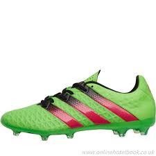 boutique football football boots boots ace 16 2 fg ag solar adidas green black black pink men s