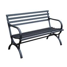 garden bench lowes. Garden Treasures 23.15-in W X 49-in L Patio Bench Lowes