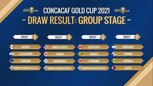 CONCACAF GOLD CUP 2021 DRAW RESULT ...