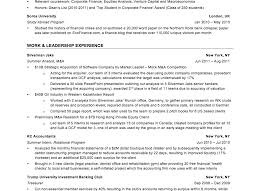 Marine Corps Resume