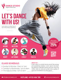 free dance flyer templates dance flyer under fontanacountryinn com