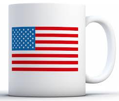 awkward styles usa mug usa coffee mug american flag themed patriotic gifts white 11 oz