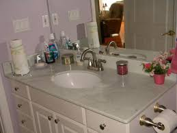 white bathroom cabinets with granite. Interesting White Granite Marble Bathroom Countertops Inside White Cabinets With B