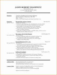Template General Resume Format Elegant Cover Letter Example Sample