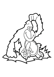 Small Picture 10 Cute Free Printable Gorilla Coloring Pages Online Coloring