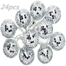 Disco Ball Light Tesco Amazon Com Good Done 24 Pcs 1 8 Inch Disco Ball Mirror