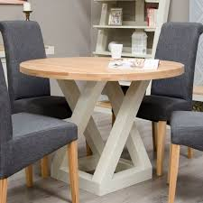 homestyle z painted oak furniture round dining table