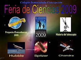 Cielo Sur - Notas - EL AÑO INTERNACIONAL DE LA ASTRONOMÍA EN LA FERIA DE  CIENCIAS ESCOLAR