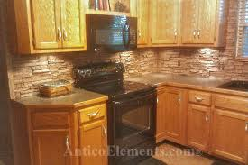 stone veneer kitchen backsplash. Wonderful Stone Backsplash With Stone Veneer Kitchen