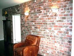 faux brick wall panels home depot interior awesome decorative indoor