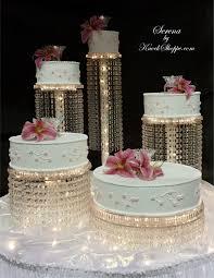 serena chandelier cake stand