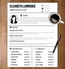 Simple Resume Template Word Elegant Resume Template With Cover