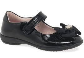 Lelli Kelly Priscilla Black Patent Mary Jane School Shoes, Toddler 8 U –  Klodhoppers