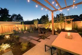 Small Backyard Lighting Ideas Outdoor Lighting Ideas Paradise Restored Landscaping