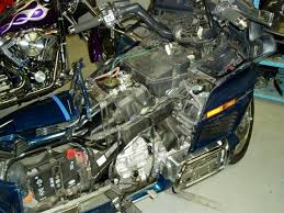 1994 honda goldwing disassembled