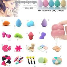 oem non latex foam sponge diffe colors cosmetic puff beauty sponge whole beautyblendertips7 diffe types