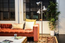 the luken brushed steel 3light tree floor lamp sports a more discernible 1950sinfluenced design that may not complement every interior interior lamps1