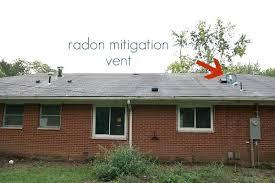 radon mitigation system diy. Radon Mitigation System Diy Also New To The Roof Is A Vent For Sump Pump