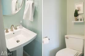 Impressive Small Bathrooms Makeover Bathroom Makeovers R To Modern Ideas