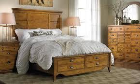 haynes furniture knotty pine queen storage bedroom
