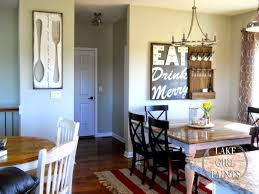 lake girl paints making dining room wall art area decor ideas home latest table