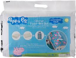 peppa pig toddler bed in a bag set